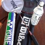 rachete de badminton si fluturasi