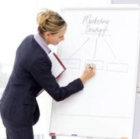 femeia manager