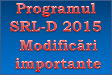 Programul SRL-D – 10.000 de euro de la stat