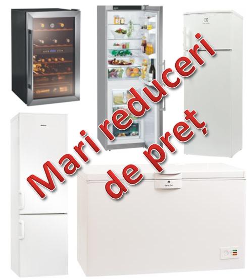 Mari reduceri la frigorifice