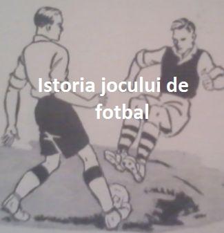 Istoria jocului de fotbal