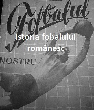 Istoria fotbalului romanesc