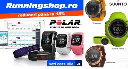 Oferte speciale la ceasuri sport cu GPS și monitorizare cardiacă