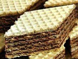 Desert dietetic pentru diabetici – foi de napolitane cu ciocolata de casa