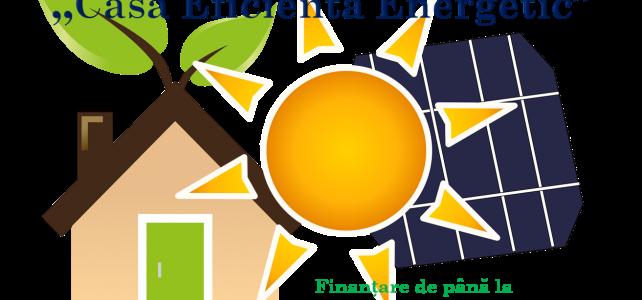 """S-a lansat programul """"Casa Eficientă Energetic"""" prin care poți primi 15.000 de euro"""