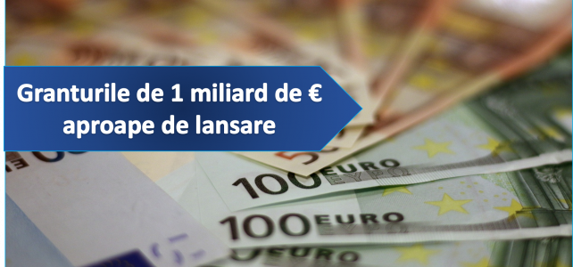 În curând se lansează Granturile Europene de până la 200.000 euro