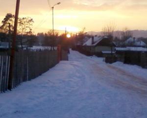 Apus de soare - Dobrești